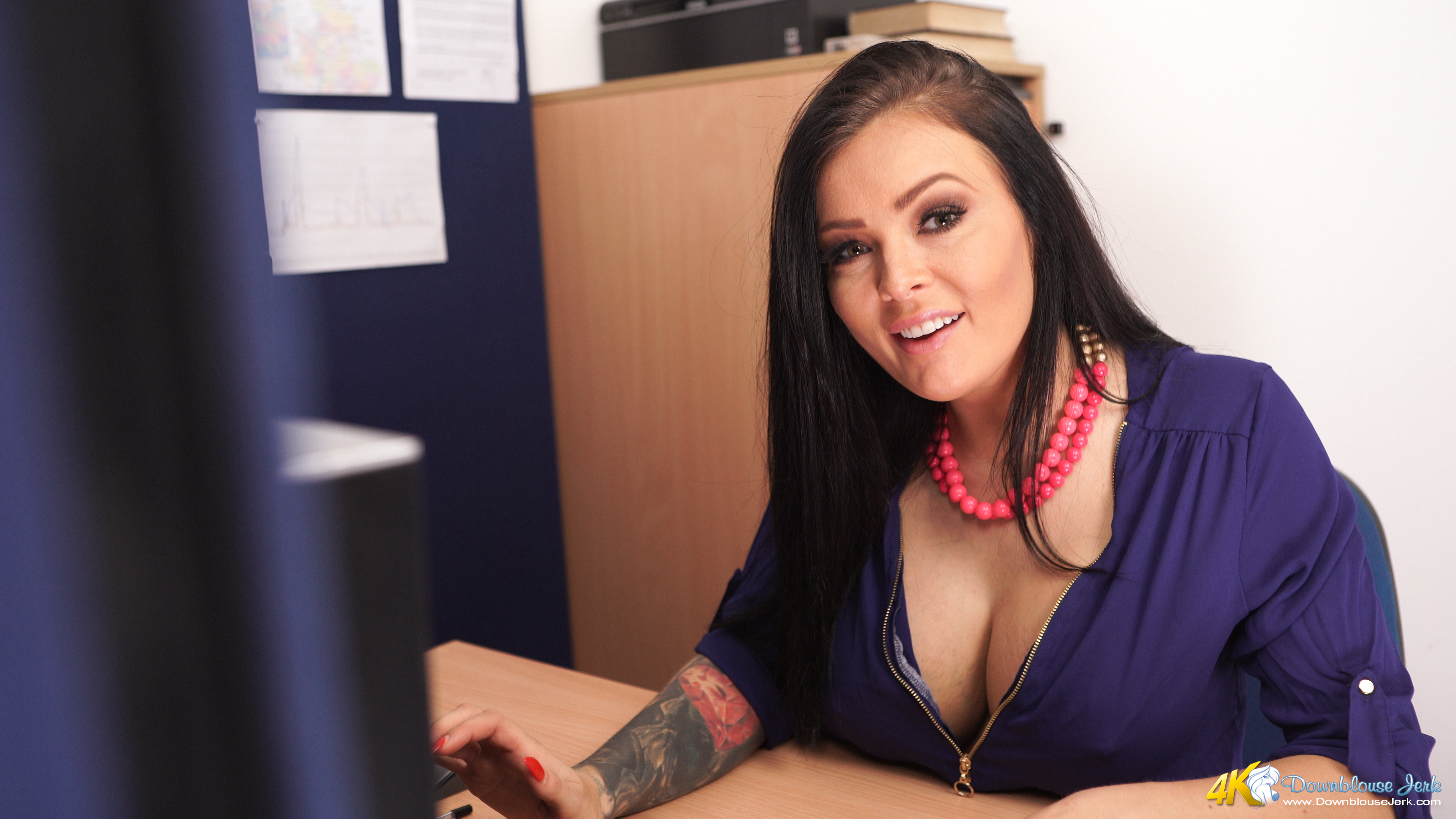 Charley Atwell   Downblouse Jerk