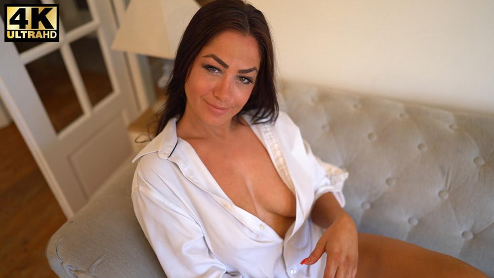 Jess Harrington White Shirt Flirt Thumbnail