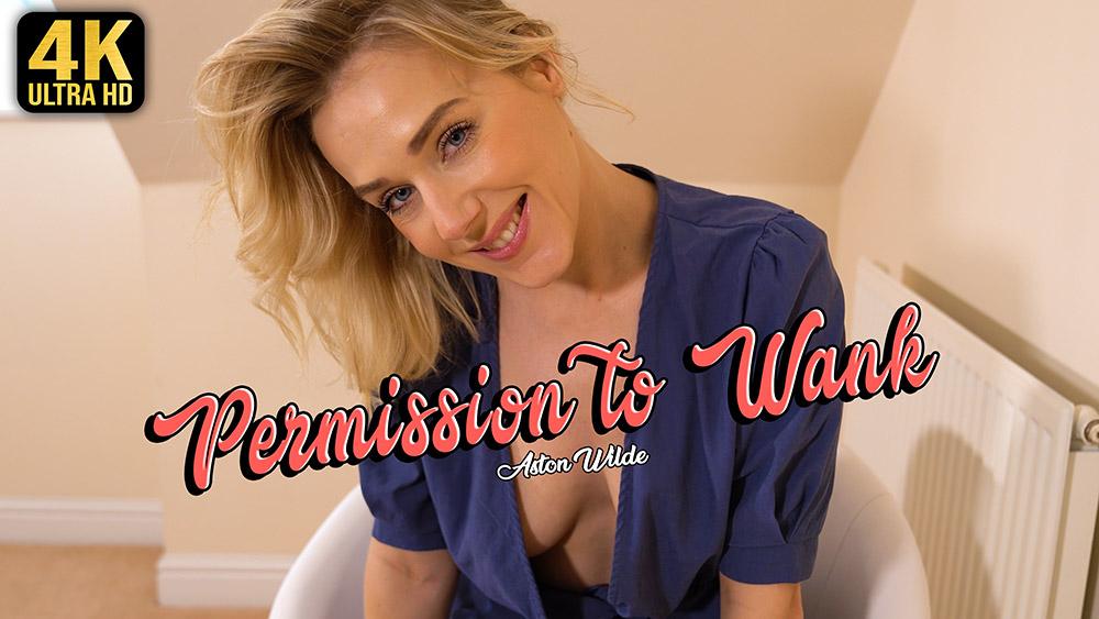 Aston Wilde Permission To Wank