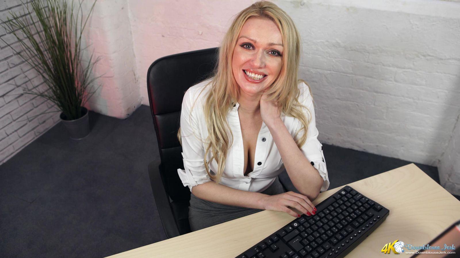 Amber Jayne Slutty Secretary 101