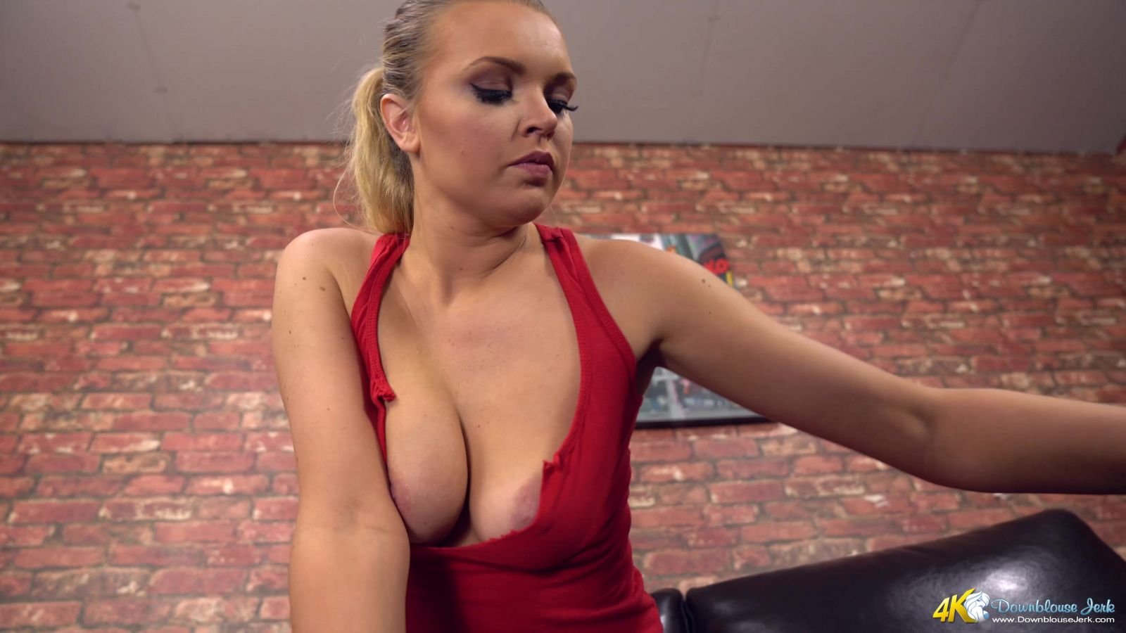 Ashley Jayne Puffy Nip Slip 117