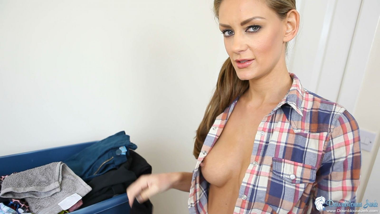 image Horny office girls having sex after work