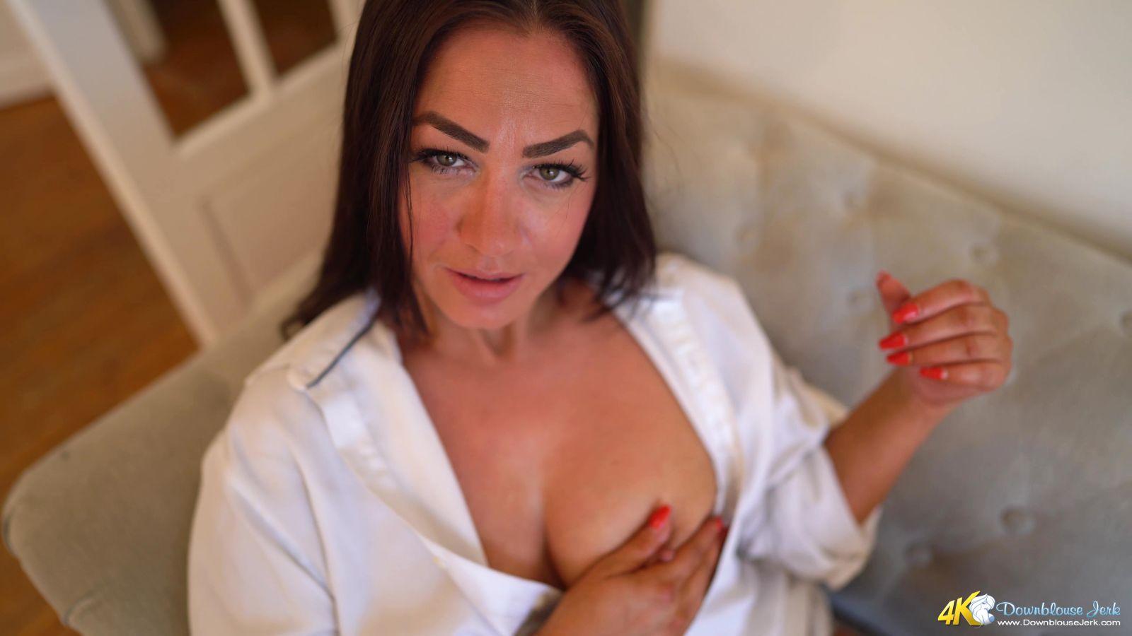 Jess Harrington White Shirt Flirt 113