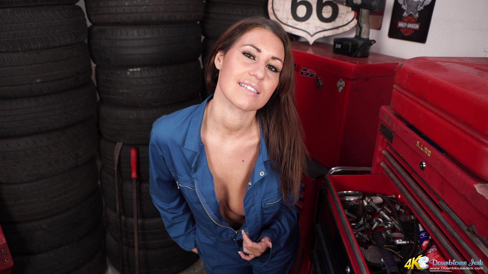 Jess West Mechanic Perv 116